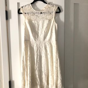 Kate Spade Lace Dress with open back
